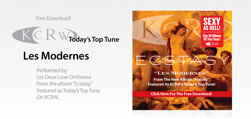 Les Modernes by Les Deux Love Orchestra Featured On KCRW
